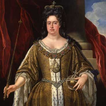Queen Anne of England   - big beautiful women in art