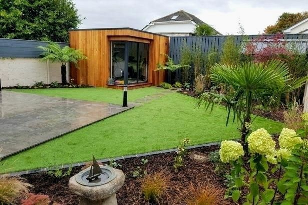 Modern Garden Design Since Most Front Gardens Are Oriented To The North They Are Usually Very Shady Garden Design Pictures Home Garden Design Modern Garden