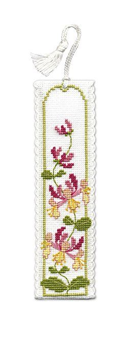 Honeysuckle Bookmark - Cross Stitch Kit