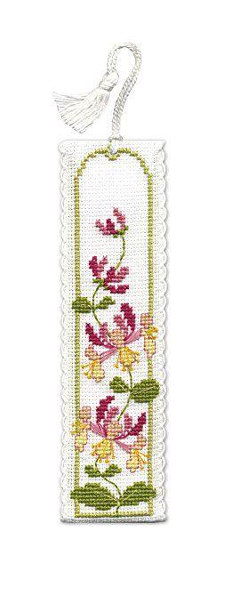 Honeysuckle Bookmark - Cross Stitch Kit