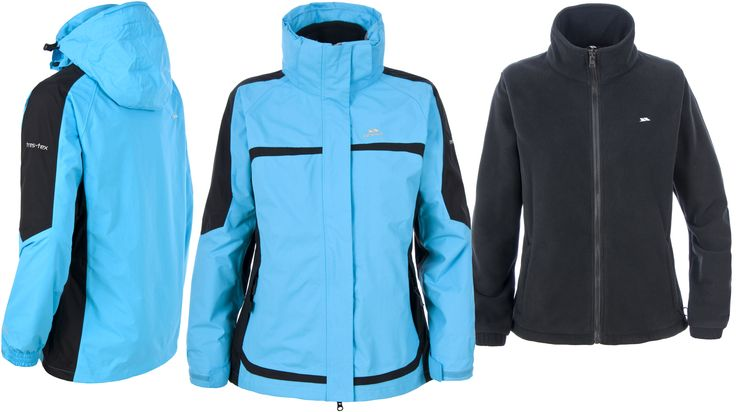 Trespass Melony 3 in 1 Waterproof Winter Coat £54.99 Free Delivery
