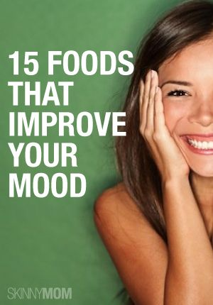 Improve your mood with some of these yummy foods!