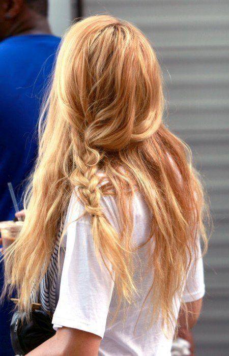 Faible Entretien La Couleur Des Cheveux Des Idées  Votre Coiffure