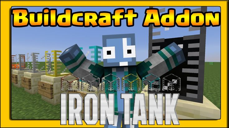 Minecraft ITA - Mod:  IRON TANK  - BUILDCRAFT ADDON