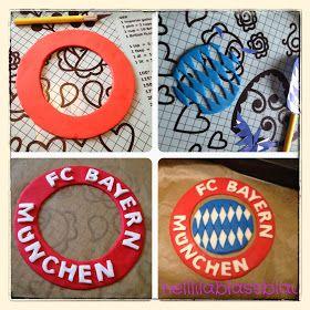 helllilablassblau: FC Bayern München-Torte