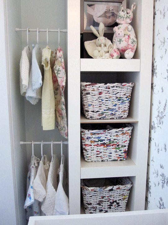 Use tension rods to turn otherwise unusable space into added clothing storage. 15+ Uses for Tension Rods You've Never Thought Of | Apartment Therapy