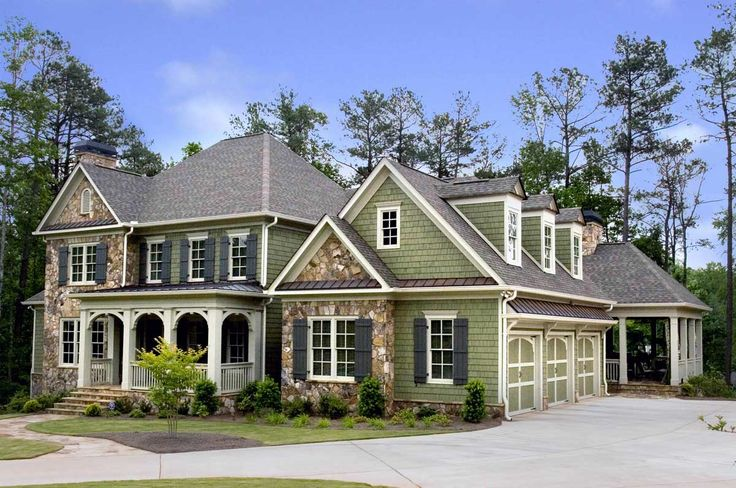 Plan 70009cw front and side porches a plus deck side for Side porch house plans