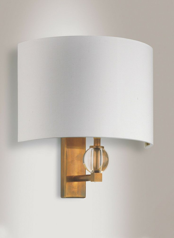 Mejores 18 imgenes de lighting wall lights for entry hall en crystal brass wall light aloadofball Image collections