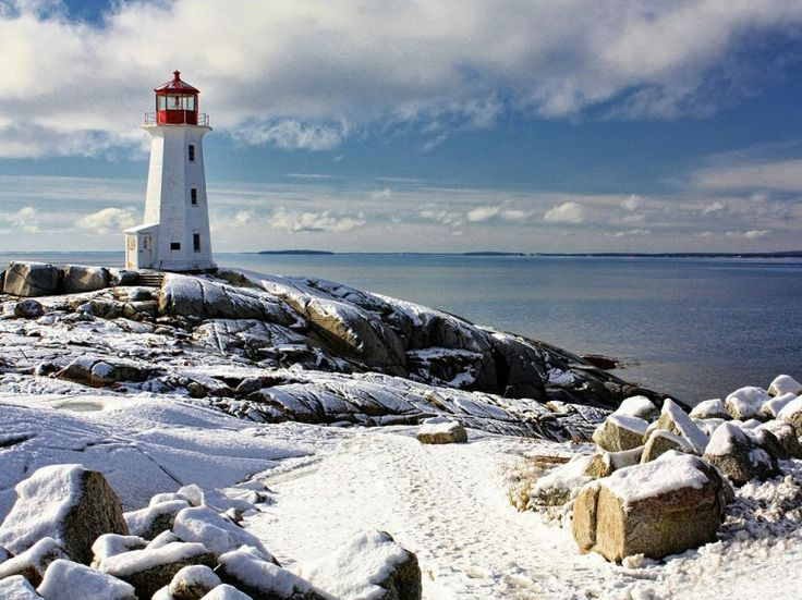 These Lighthouses in Winter Are Picture-Perfect