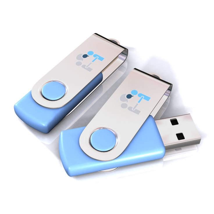 USB Swing with the print of your logo, product or brand symbol.