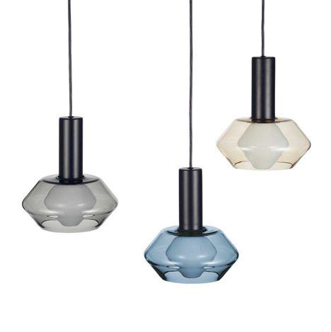Artek reintroduces coloured glass lampshades by Tapio Wirkkala.