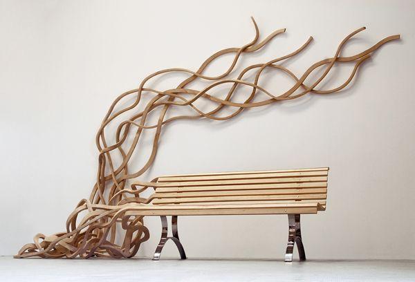 The Spaghetti Bench / Pablo Reinoso