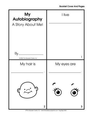 My Autobiography, Lesson Plans - The Mailbox