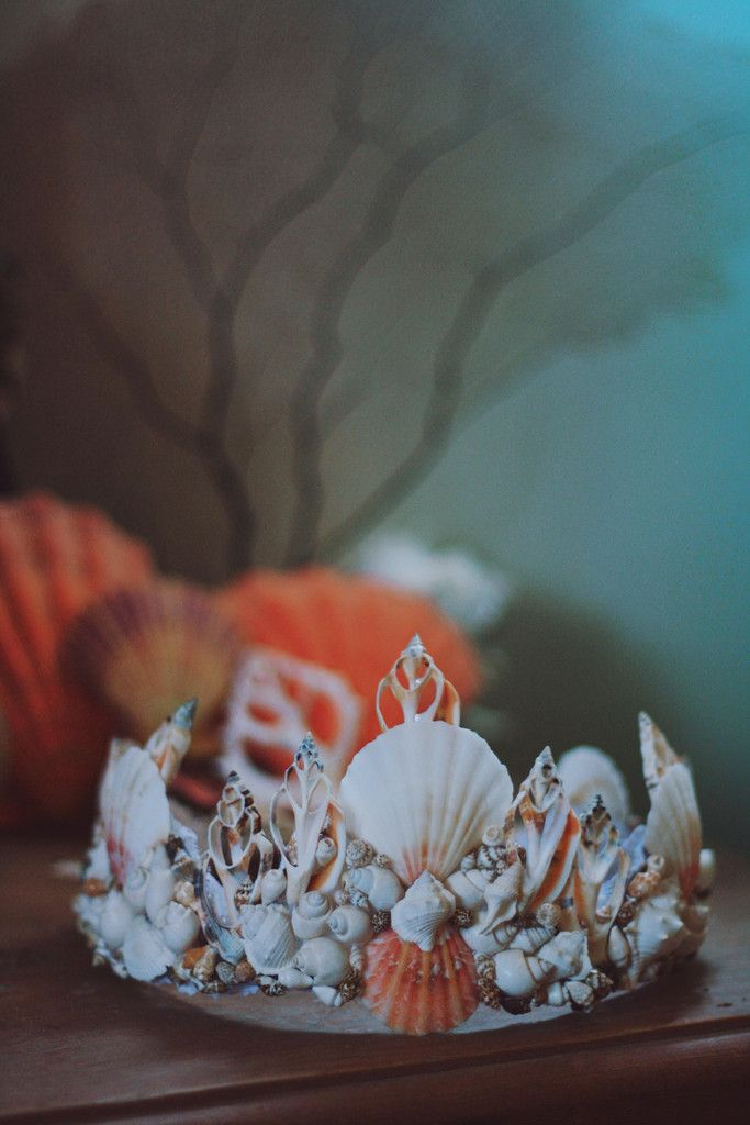 The Dreamer Mermaid Crown by Wild & Free Jewelry. Handmade in Santa Barbara, California.