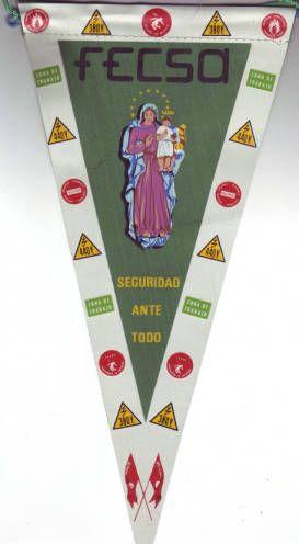 Fecsa, seguridad ante todo :: Banderins del Pavelló de la República (Universitat de Barcelona)
