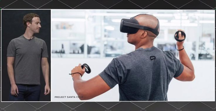 Project Santa Cruz: Hands-on with Facebook's next-generation wireless VR headset  ||  Facebook's Oculus division is making good progress on its next-generation virtual reality headset, dubbed Project Santa Cruz. It's a standalone device that has no wires and does not hav… https://venturebeat.com/2017/10/12/project-santa-cruz-hands-on-with-facebooks-next-generation-wireless-vr-headset/?utm_campaign=crowdfire&utm_content=crowdfire&utm_medium=social&utm_source=pinterest