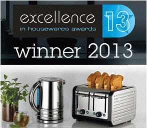 Dualit take home coveted 'Plugged-In' award at Excellence in Housewares Awards 2013