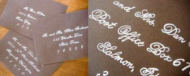 DIY Wedding Invitation Hacks: Embellish with Paint Pen