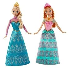 Disney Frozen - Royal Sisters Dolls Elsa and Anna 2-Pack