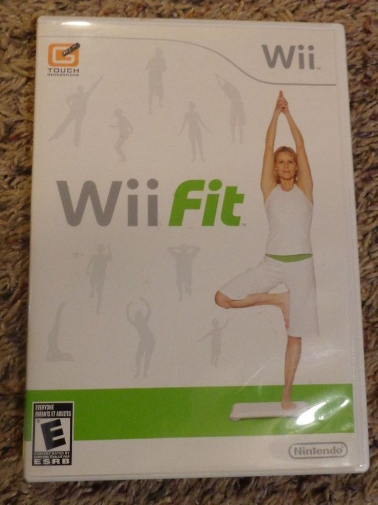 Wii Fit -- Nintendo Wii Fitness Exercise Work Out Game
