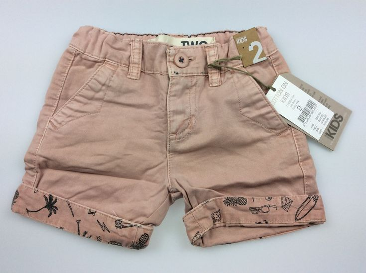 Cotton On Kids, dusty pink shorts, BNWT, size 2, $12 (RRP $26.95) #kidsfashion #girlsfashion #CottonOnKids