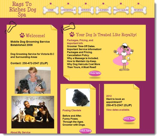Rags To Riches Dog Grooming