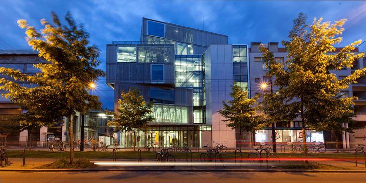 Brise-soleil pour l'école supérieur d'architecture de Starbourg