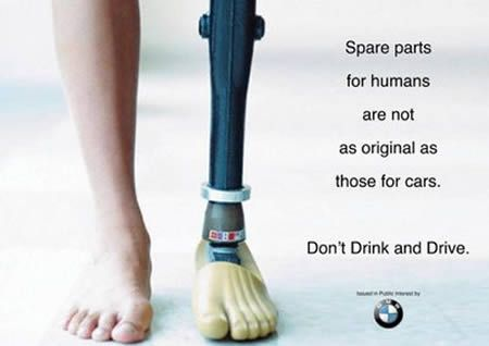 12 Most Shocking Safe-Driving Awareness Ads (awareness ads, shocking ads) - ODDEE