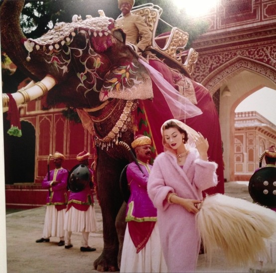 Pink is the navy blue of india- Norman Parkinson