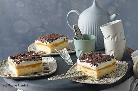 Orangencreme-Kuchen