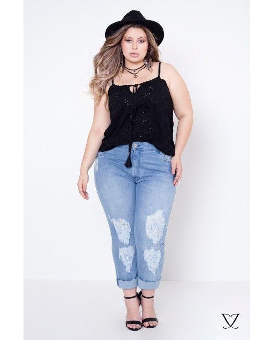 Jeans Plus Size, Calças, shorts e mais moda plus size | Julia Plus