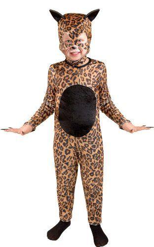 Child's Cheetah Cat Girl Halloween Costume (Size: Large 10 12)