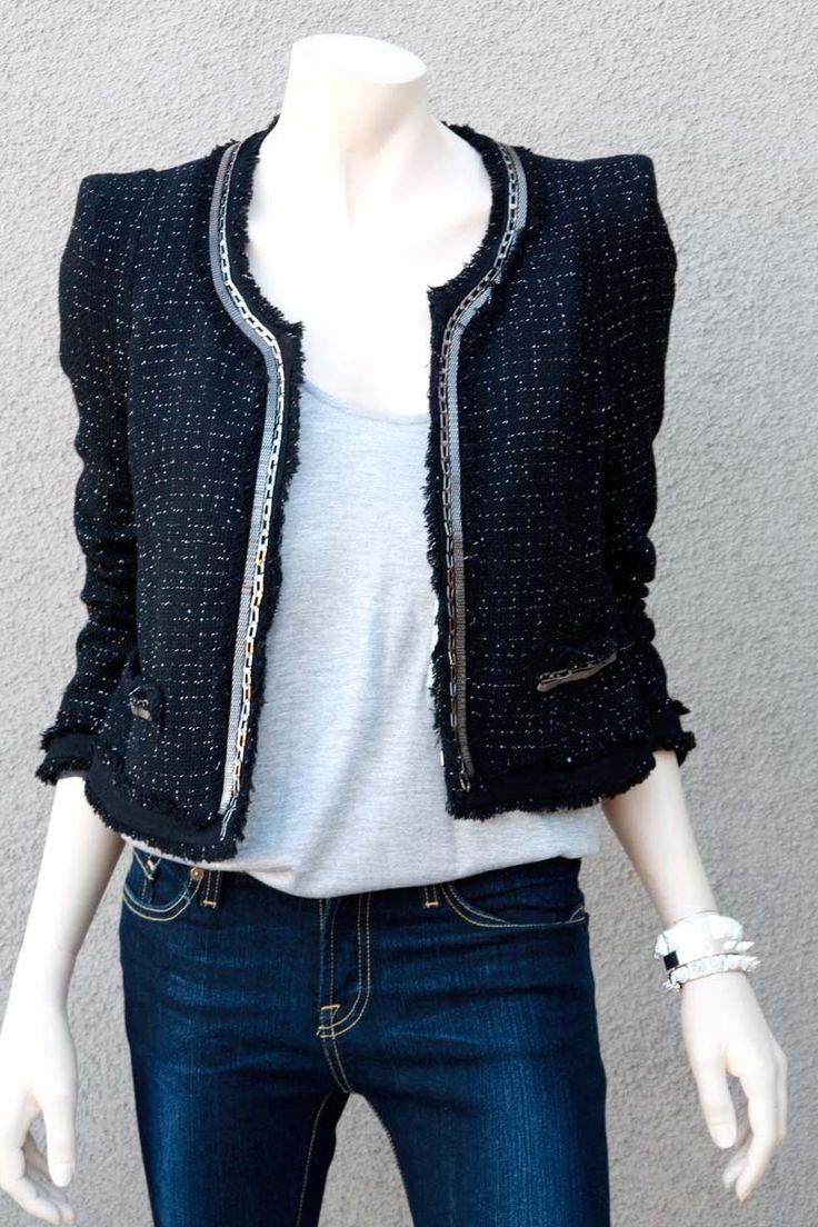 Chanel  jackets | Chanel Tweed Jacket