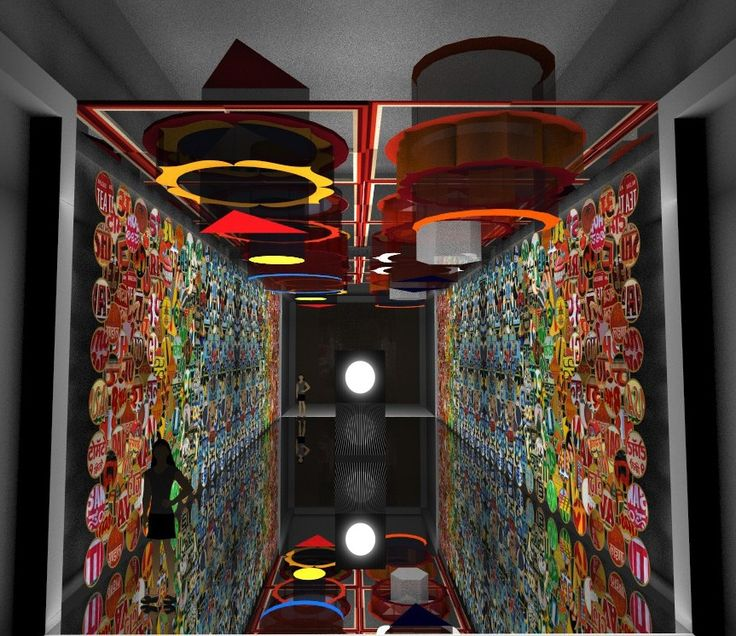 Rendering of installation, ChakraView, India Design Forum, 2016. Image courtesy…