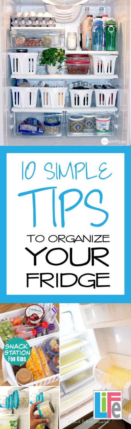It could be argued that the fridge is the most used kitchen appliance in any home. At my house it is opened approximately every 12 second. From sun up to sun down, someone is almost always looking for something in the fridge. As a result of daily use, it gets messy very, very