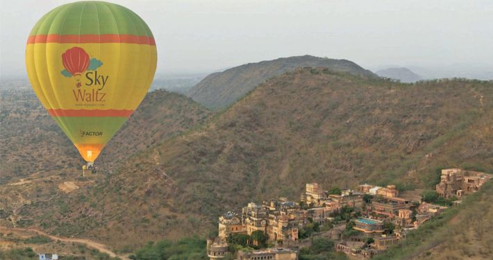 Balloon Safari Rides in Rajasthan   Balloon Safari Rides in Jaipur