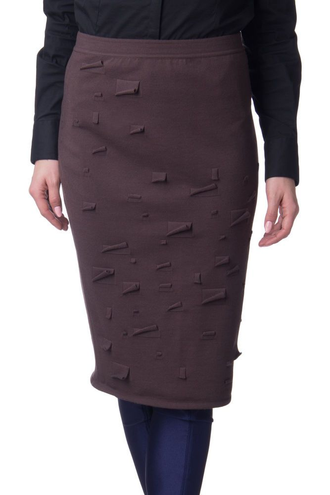 e83552a166 GENTRYPORTOFINO Bodycon Skirt Size 42 / S Wool Blend Made in Italy RRP 405 # fashion #clothing #shoes #accessories #womensclothing #skirts (ebay link)