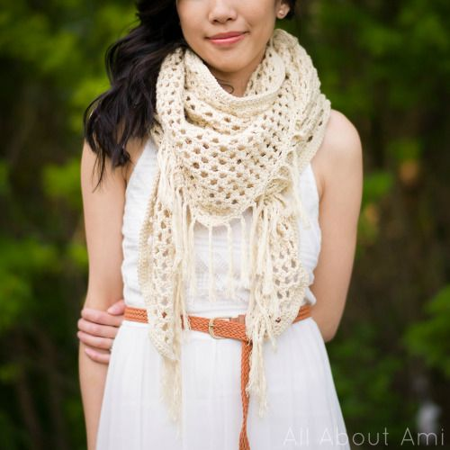 The Boho Crochet Wrap | All About Ami
