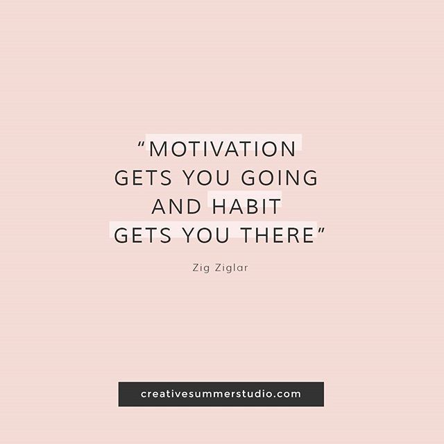 Motivation gets you going and habit gets you there. Quotes, inspirational quotes, motivational quotes, discipline quotes, goals, goals quotes, motivation, discipline.