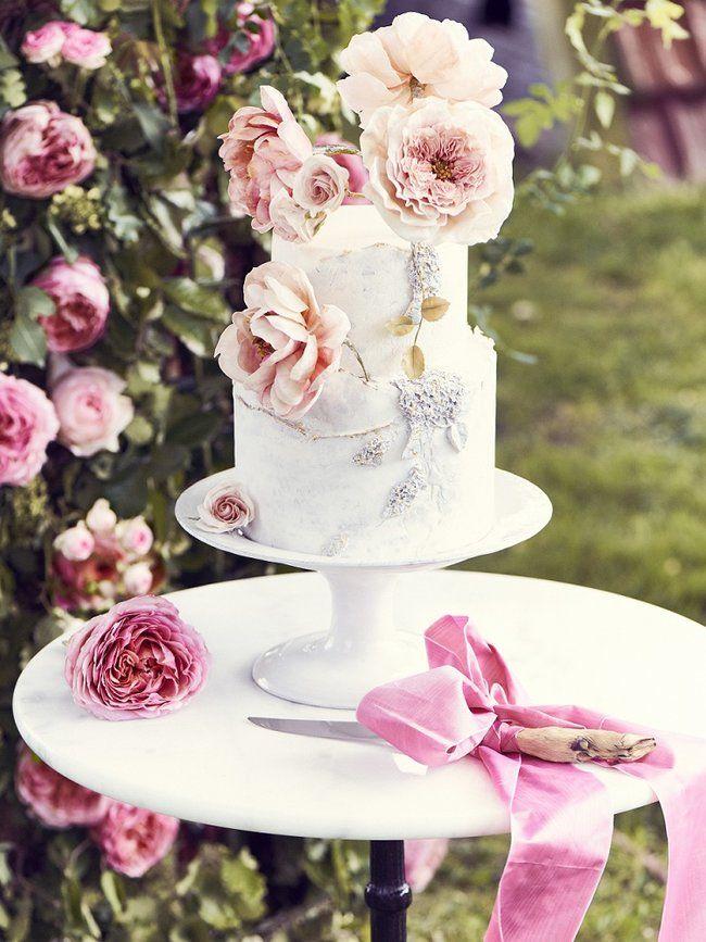 Fleurs En Sucre Pour Gateau De Mariage