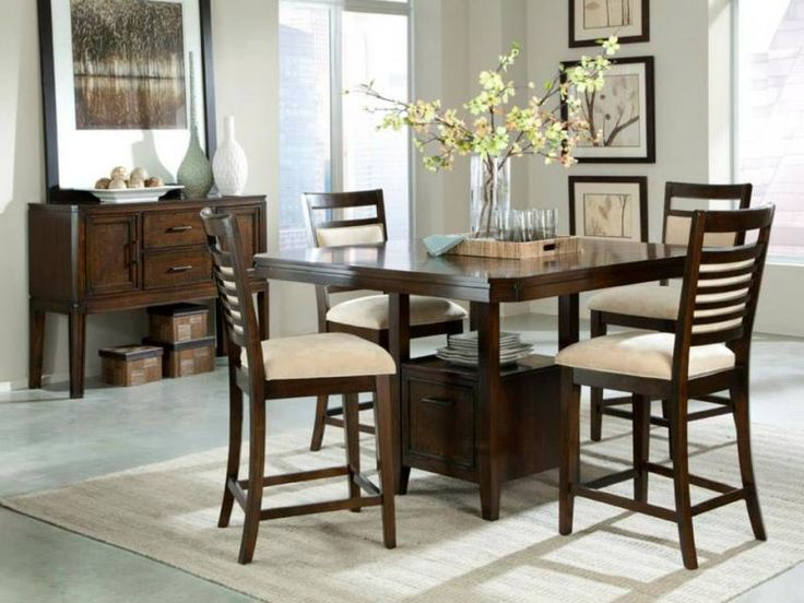 Standard Furniture Avion Counter Height Dining Table   Walnut   With its  functional pedestal base and conversation friendly height  the Standard  Furniture. 33 best Dining Rooms images on Pinterest   Bedroom sets  Counter