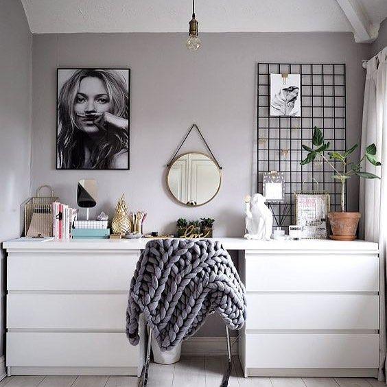 Pour reproduire le style scandinave dans votre chambre , RDV sur le blog de l At…