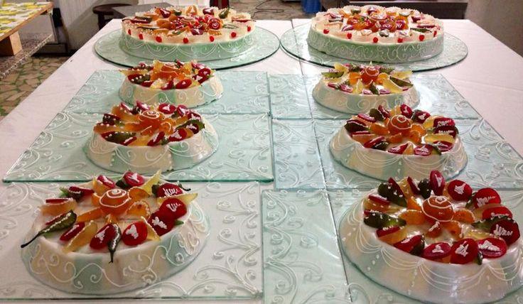 Cassate siciliane....in Sicilia e' sempre festa!