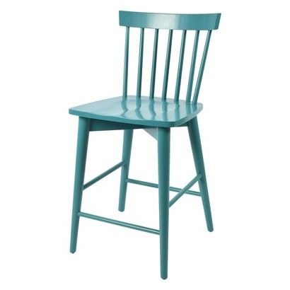 4 for playroom bars green orange blue yellow threshold windsor 24 counter stool aqua - Windsor back counter stools ...