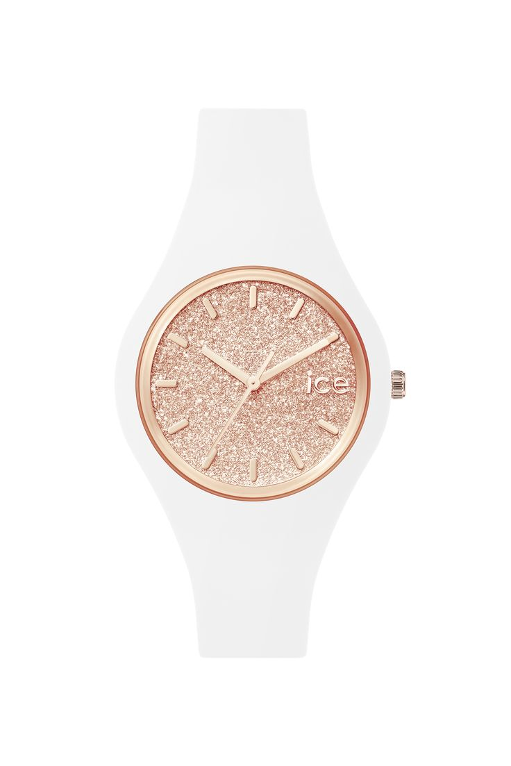 Need a beautiful watch? Look at ICE glitter - White Rose-Gold . Buy it for 99€ or £77 on Ice-Watch Official Webstore: https://www.ice-watch.com/be-en/ice/ice-glitter-p-26724.htm?coul_att_detailID=318&utm_source=SOC_Pinterest&utm_medium=Post&utm_content=Product&utm_campaign=2015-11-12_Product-Pinterest-ALL_ALL
