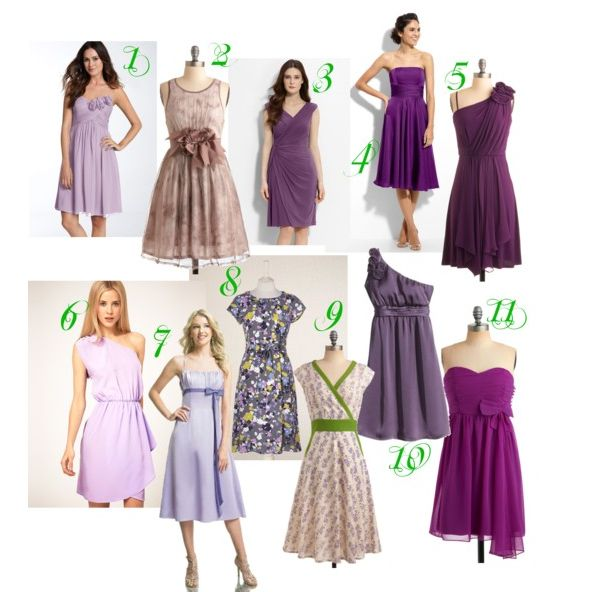 Personal Shopper Purple Bridesmaid Dresses For Super Nice Nikkis Country Chic Wedding