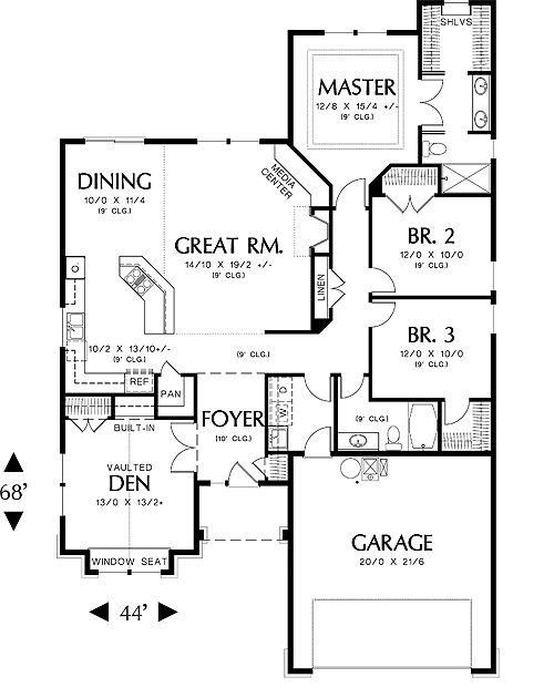 for Bhg house plans