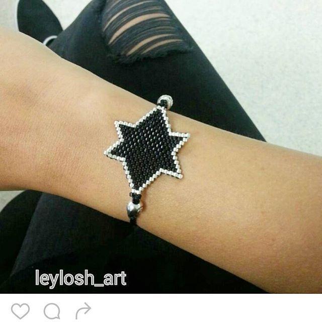#star #yıldız #miyukibracelet #miyukibileklik #makrome #siyah-gümüş #wristband #spor #zarif #stylish #tarz #kişiyeözelhediye #gift #girls #handmadejewerly
