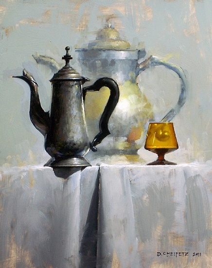 Pintura a óleo sobre tela de David Cheifetz.