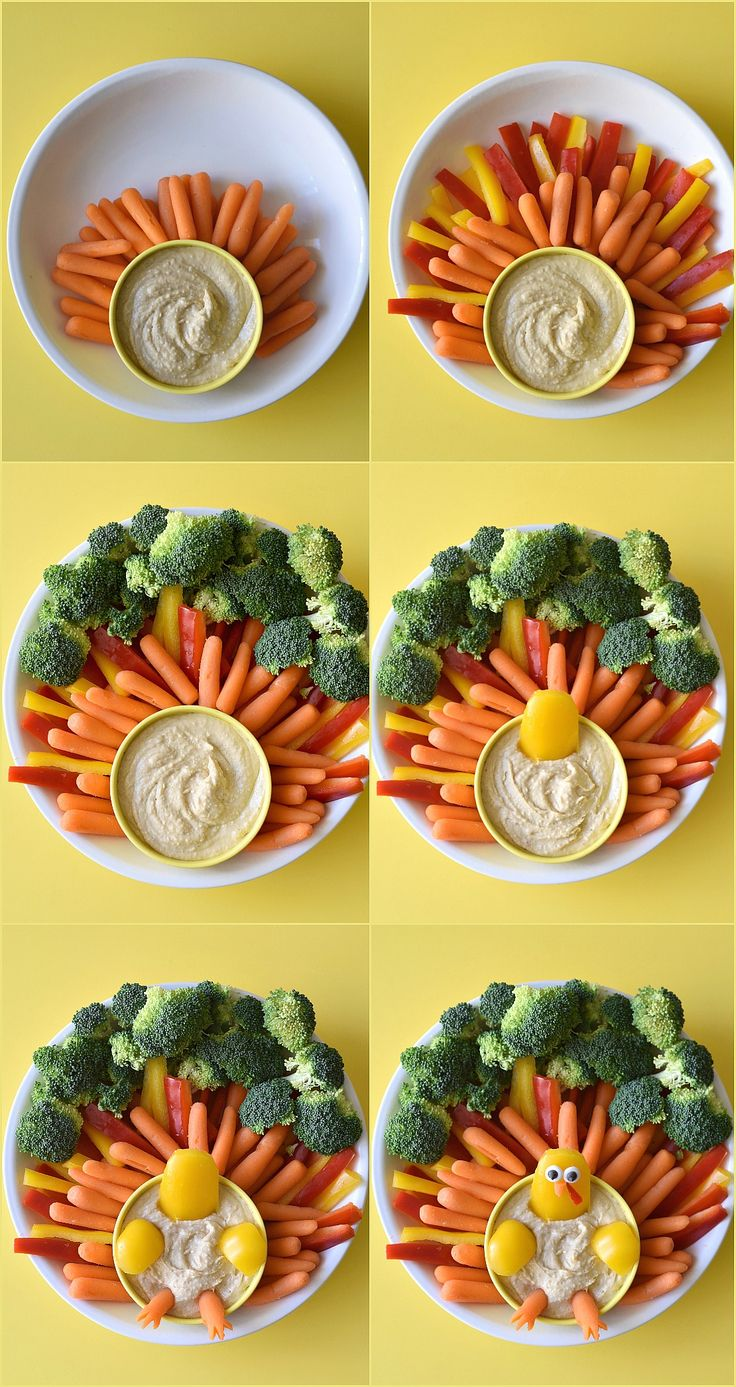 Impress your Thanksgiving party goers with the Ultimate Turkey Veggie Platter. So easy to throw together, your guests will think you spent hours on it!
